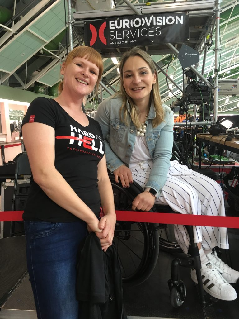 Dorota Rajska i Kristina Vogel